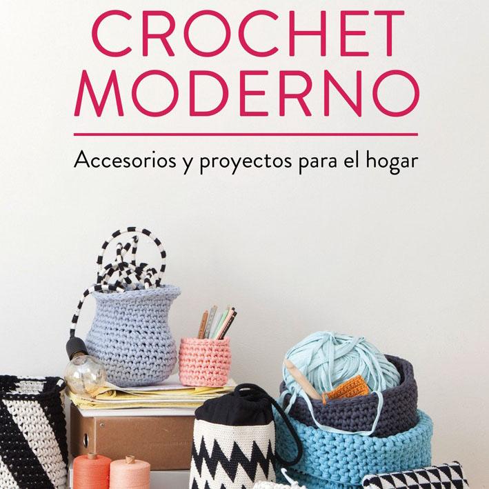 Crochet moderno accesorios y proyectos para el hogar for Accesorios de hogar